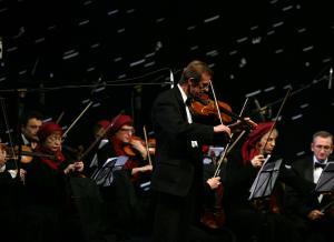 ارکستر اکراینی ها در حد و اندازه یک ارکستر آماتور بود