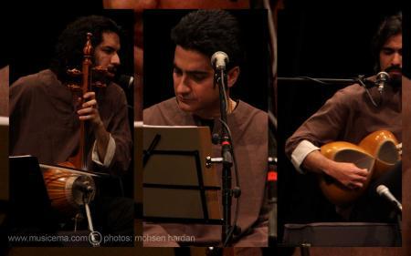 4 عکس یادگاری از کنسرت همایون شجریان و گروه حصار