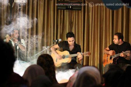 عکسهایی از اجرای گروه سون در مجموعه بهزیستی شهید قدوسی