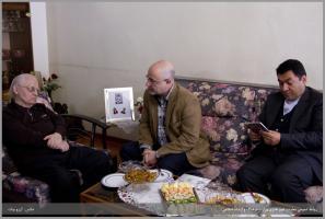 معاون امور هنری با استاد حسین دهلوی دیدار کرد