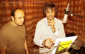 عکسهایی از استودیوی ضبط ترانه پرسپولیس