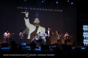 عکسهای کنسرت مهدی مدرس در اریکه ایرانیان تهران - 2