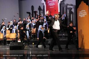 گزارش متنی و تصویری از اجرای گروه کر نامیرا در تالار وحدت