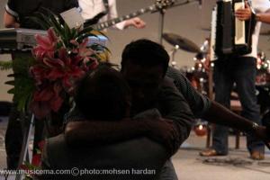 گزارش تصویری از اولین شب اجرای حامی در اریکه ایرانیان - 1