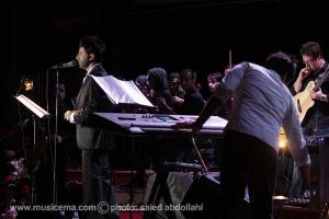 گزارش تصویری از کنسرت علی لهراسبی در سالن میلاد - 1