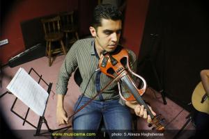 تمرین کنسرت مسعود امامی - شهریور 1394