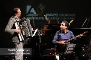 کنسرت ارکستر ایستگاه (ناصر چشم آذر) و به خوانندگی اشکان حطیبی