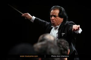 اجرای ارکستر سمفونیک تهران به رهبری علی رهبری (بهمن 1394 - جشنواره موسیقی فجر)