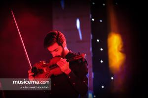 کنسرت علی زند وکیلی در ساری - 26 دی 1396