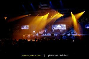 کنسرت امیر یگانه در کیش - 30 خرداد 1393