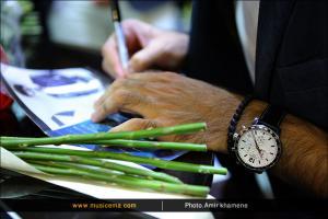 مراسم جشن امضای آلبوم «سلام ساده» اثر امیرعلی بهادری - 1 تیر 1395