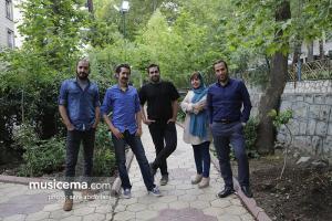 گفت و گو با اعضای گروه «دال» در دفتر سایت «موسیقی ما» - اردیبهشت 1396