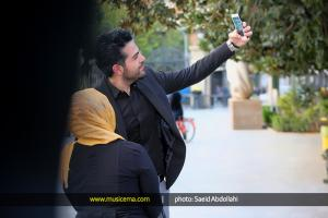 حضور عماد طالبزاده در موزه صلح تهران - مهر 1394