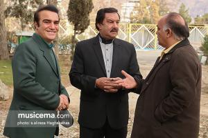 حضور چنگیز حبیبیان، عباس بهادری و بیژن خاوری در برنامه فرمول یک - 27 آذر 1395