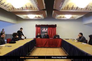 نشست خبری کنسرت مانی رهنما - دی 1394