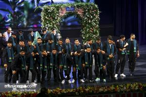 مراسم رونمایی از سرود رسمی تیم ملی فوتبال ایران