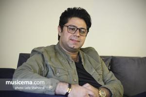 گفت و گو با حجت اشرفزاده در دفتر سایت موسیقی ما - دی 1396