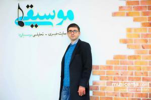 گفت و گو با «کوشان حداد» در دفتر سایت «موسیقی ما» - 26 بهمن 1395