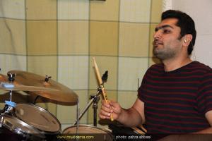 تمرین گروه شهرام شعرباف (اوهام) برای کنسرت - اردیبهشت 1393