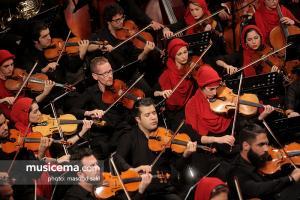 کنسرت ارکستر سمفونیک تهران و ارکستر فستیوال راونا به رهبری ریکاردو موتی - 15 تیر 1396