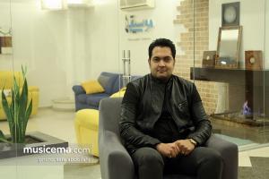 محمد فلاحی - گفت و گو در دفتر سایت موسیقی ما
