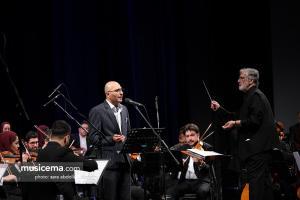 اجرای ارکستر ملی ایران به رهبری فریدون شهبازیان و با خوانندگی علی اصغر شاه زیدی و حسین علیشاپور