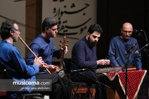 کنسرت گروه همنوازان دلگشا به خوانندگی حسین علیشاپور و آهنگسازی سیامک جهانگیری - سی و سومین جشنواره موسیقی فجر (29 دی 1396)