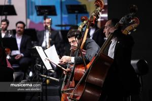 اجرای ارکستر سمفونیک تهران به رهبری شهرداد روحانی - سی و چهارمین جشنواره موسیقی فجر
