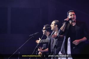 کنسرت گروه سون در سالن میلاد نمایشگاه بین المللی تهران - 12 مهر 1392