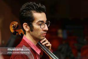 تمرین ارکستر ملی ایران به رهبری فریدون شهبازیان - آذر 1395