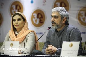 نشست خبری پروژه «سی» اثر همایون شجریان و سهراب پورناظری - 28 خرداد 1396