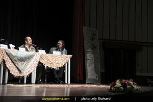 نشست تخصصی متدها و شیوههای آموزش موسیقی کلاسیک ایرانی با گرایش تار - اسفند 1393
