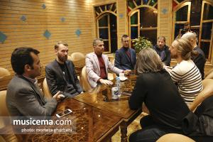 ورود گروه شیلر به تهران