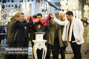 مراسم تجلیل از سالار عقیلی - بهمن 1396