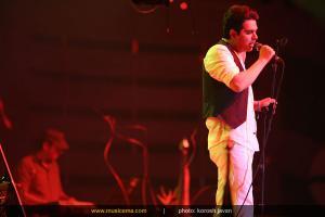 کنسرت حمید عسکری - کیش (نوروز 93)