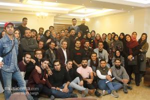 کارگاه ترانه بابک صحرایی با حضور سیامک عباسی و امین قباد