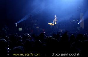 کنسرت فریدون آسرایی در سالن میلاد نمایشگاه
