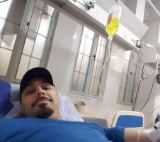 احسان خواجهامیری در بیمارستان بستری شد